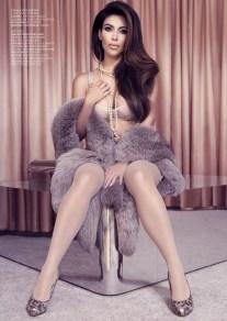 Kim Kardashian for Factice France January 2013-000