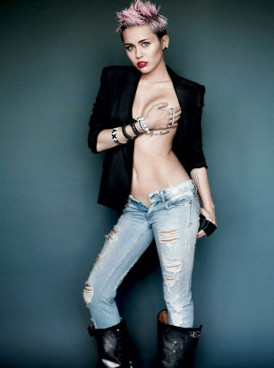 MILEY CYRUS BY MARTIO TESTINO FOR V MAGAZINE 2013 pics 04