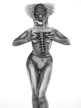 Beyonce Sparkles naked for Flaunt Magazine - 05