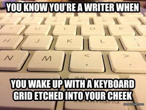 Keyboard Cheek