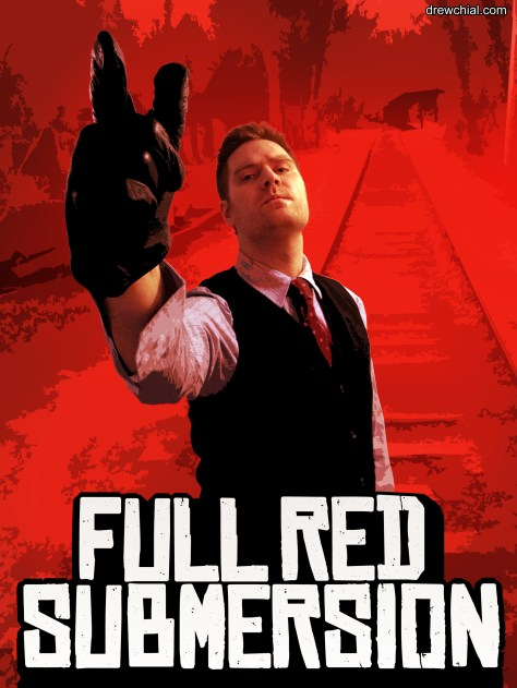 """I was thinking of calling this """"Red Drew Redemption"""" but thought better of it."""