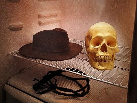 Skull fridge