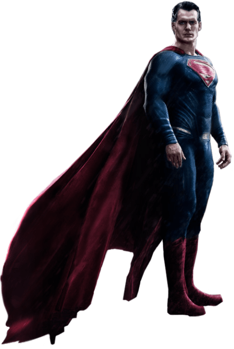 In addition to clearing out the droplets, I used an image from Man of Steel to complete the cape. I also made him brighter and enhanced the color so he could fit into more daytime scenarios.