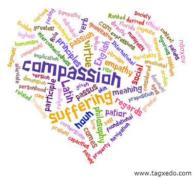 a heart full of compassion