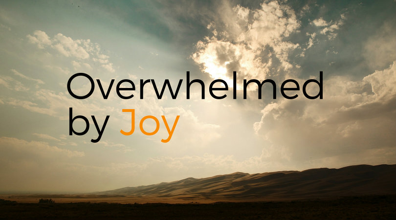 Overwhelmed by Joy: a sermon for Christmas 2