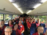 SC delegates on the bus in Cleveland at the 2017 Republican National Convention