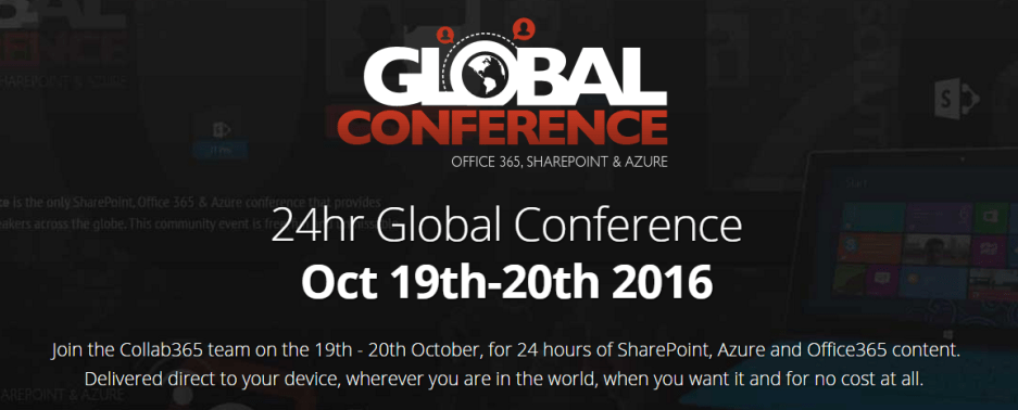 Collab365 Global Conference 2016