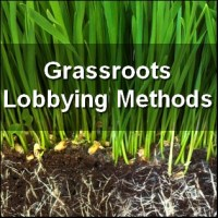Grassroots Lobbying Methods