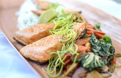 Grilled Arctic Char - Corporate Hot Lunch Menus