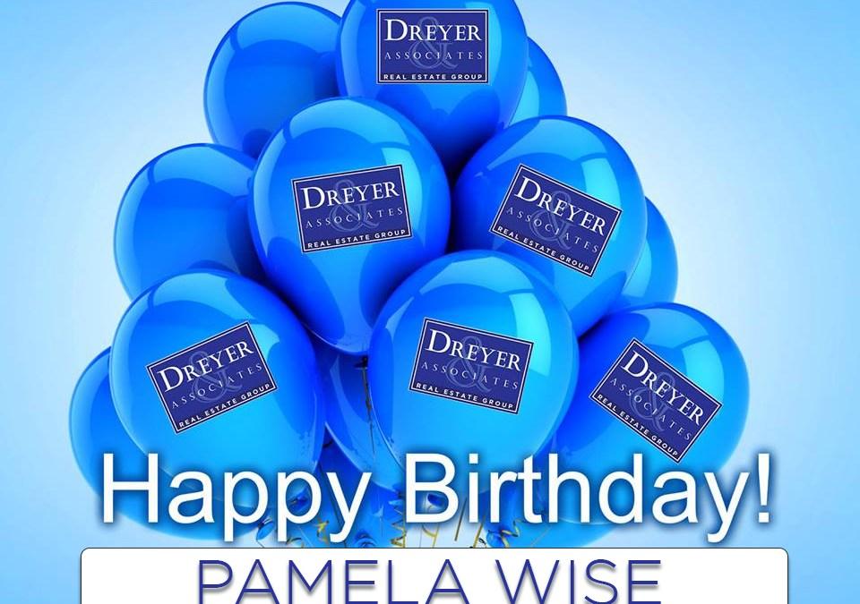 Happy Birthday to Pamela Wise!