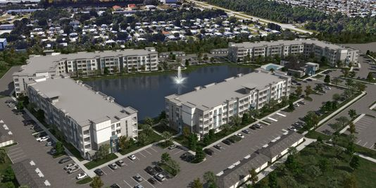 Downtown Palm Bay? Developer building Aqua housing-retail complex on R.J. Conlan Blvd.