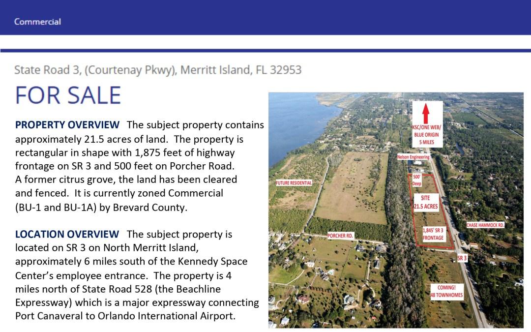 N Courtenay Parkway & Porcher 21.5 Acres Land for Sale | Michael Dreyer