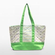 melon green parent or diaper bag   Green Baby Garden :: Upcycling Product Development