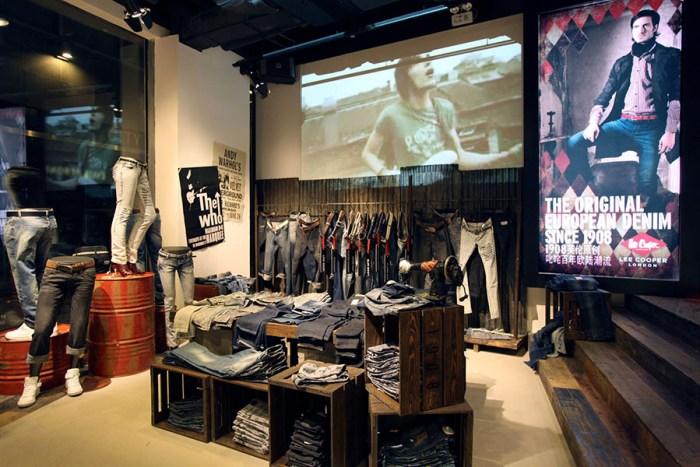 Lee Cooper Sanlitun Flagship Store in Beijing :: Jeans Zone