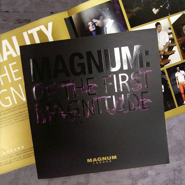 Magnum London :: brand book