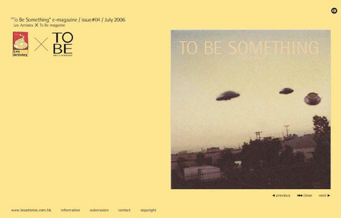 """self-publication issue no.4 """"UFO"""" cover 