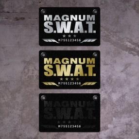 three levels of programme card, silver gold and black platinum | British Fashion Retail Brand - Magnum London :: customer relationship management