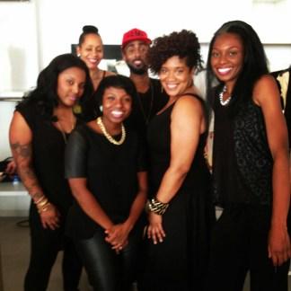 Louis Johnson Jr's wardrobe styling team