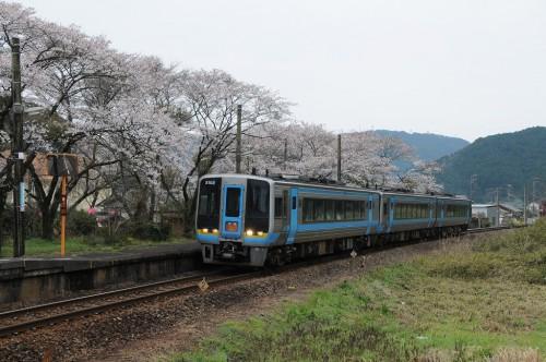 仁井田駅通過 南風20号
