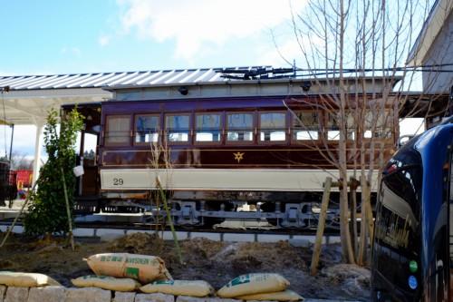 保存車両の目玉、広軌1型