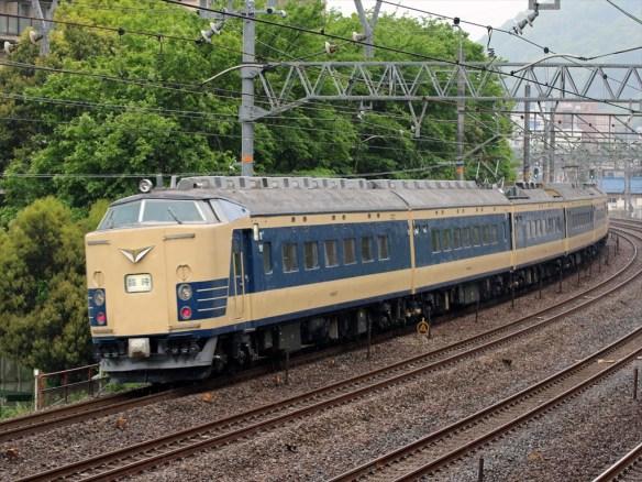 下り583秋田発大阪行き 山崎 (2)