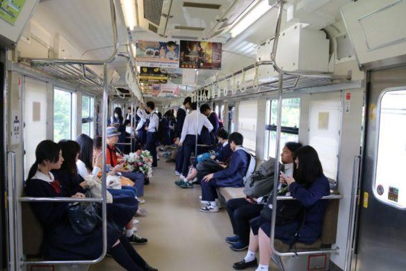 平成28年5月19日 福塩線243Mの車内