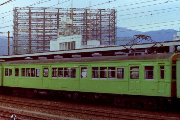 クモハ73313 昭和56年3月 横川駅