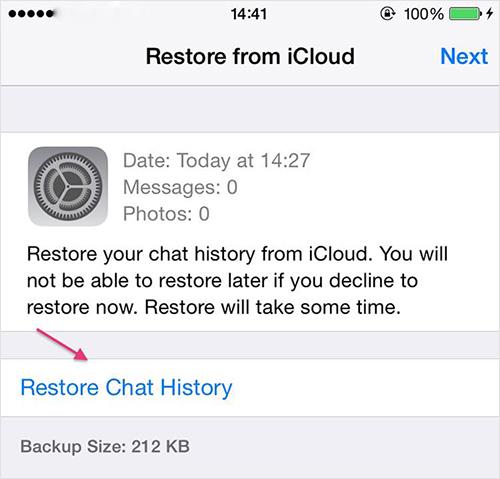 كيفية استرداد ملفات النسخة الاحتياطية لواتس آب على هواتف