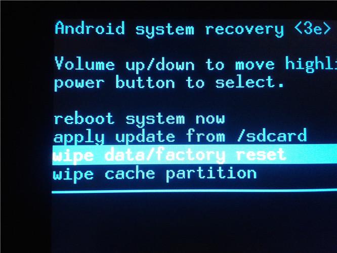 réinitialisation d'usine pour réparer le téléphone coincé sur l'écran de démarrage