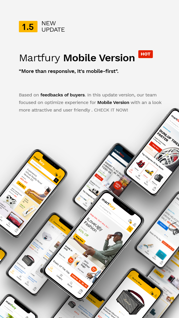 Martfury - WooCommerce Marketplace WordPress Theme - 10