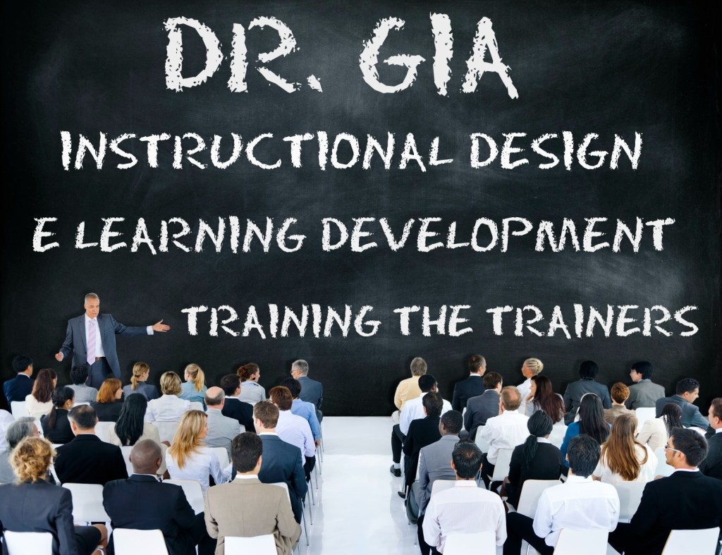 DR GIA BLACKBOARD TRAINING E LEARNING
