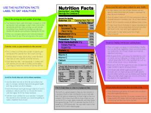 How to Read Food Labels | Dr Gina's Blog