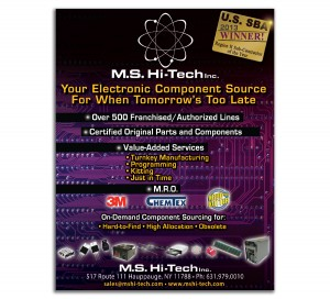 ms hi tech tradeshow ad
