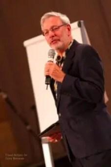 Dr. Gruder speaking