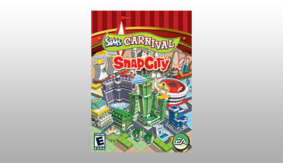 The Sims 2 Carnival: Snap City logo