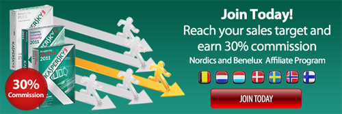 Join Today! Reach your sales target and earn 30% commission. Nordics and Benelux Affiliate Program