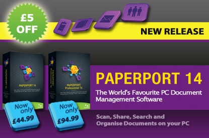 Introducing New Nuance PaperPort 14 for the UK Market!
