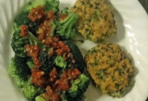 Tilapia Spinach Cakes