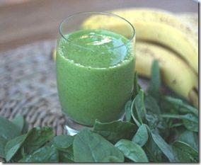 spinach banana green smoothie