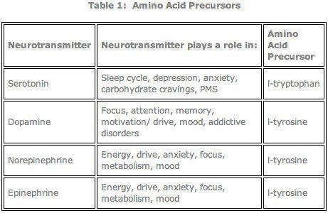amino acid precursors