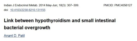 SIBO and Thyroid connection Dr Hagmeyer
