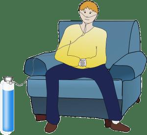 oxygen diagnosis label pertussis