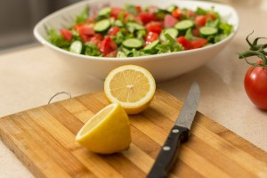 Nutrition salad whole food