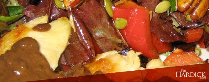 Chicken or Steak with Balsamic Mustard Sauce