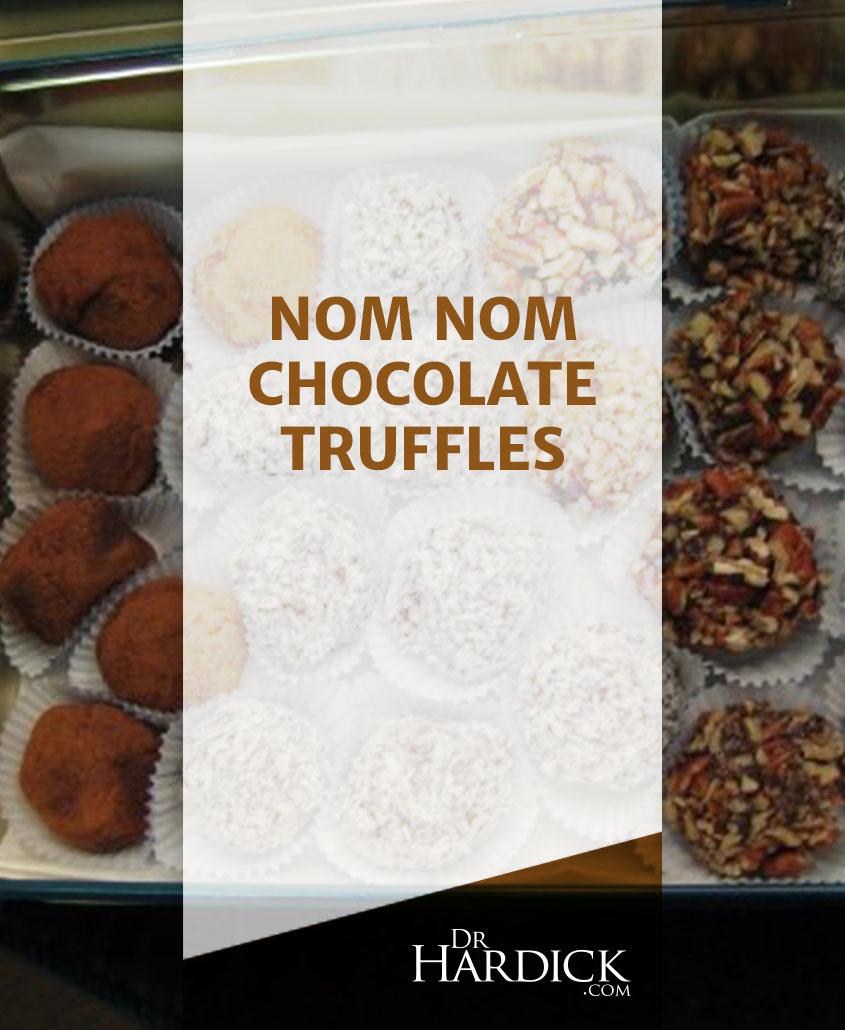 Nom Nom Rich Chocolate Truffles