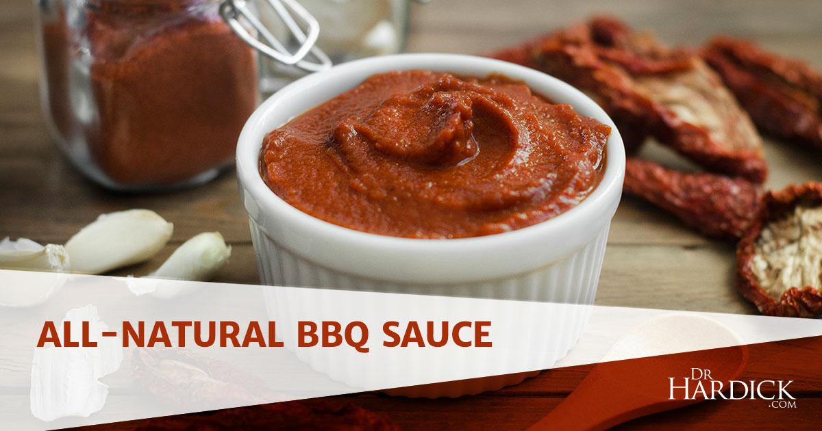 All-Natural BBQ sauce