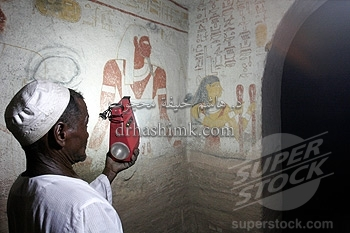 The grave of a ancient black pharaon in Meroe