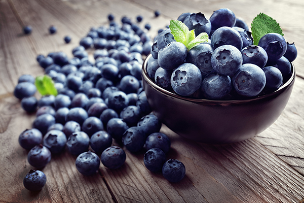 A cup of blueberries a day keeps the doctor away
