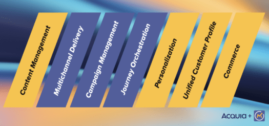 The building blocks of a Digital Experience Platform and how Mautic accelerates Acquia's vision.