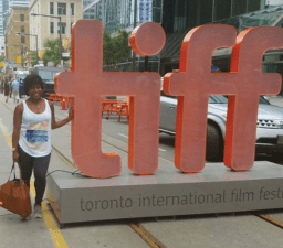 I made it to TIFF! Thanks, Sony!